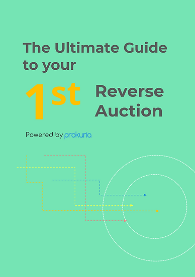 The Ultimate Guide to Your First Reverse Auction. Learn step by step how to prepare, involve your stakeholders, communicate with suppliers, and run smoothly your first eAuctions. Bonus: a reverse auction checklist to be sure you did not miss anything on the way.