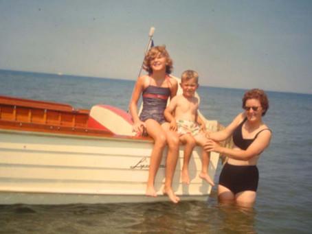 Boating on Lake Erie