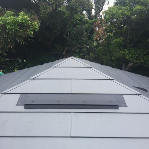 屋根排気口による遮熱