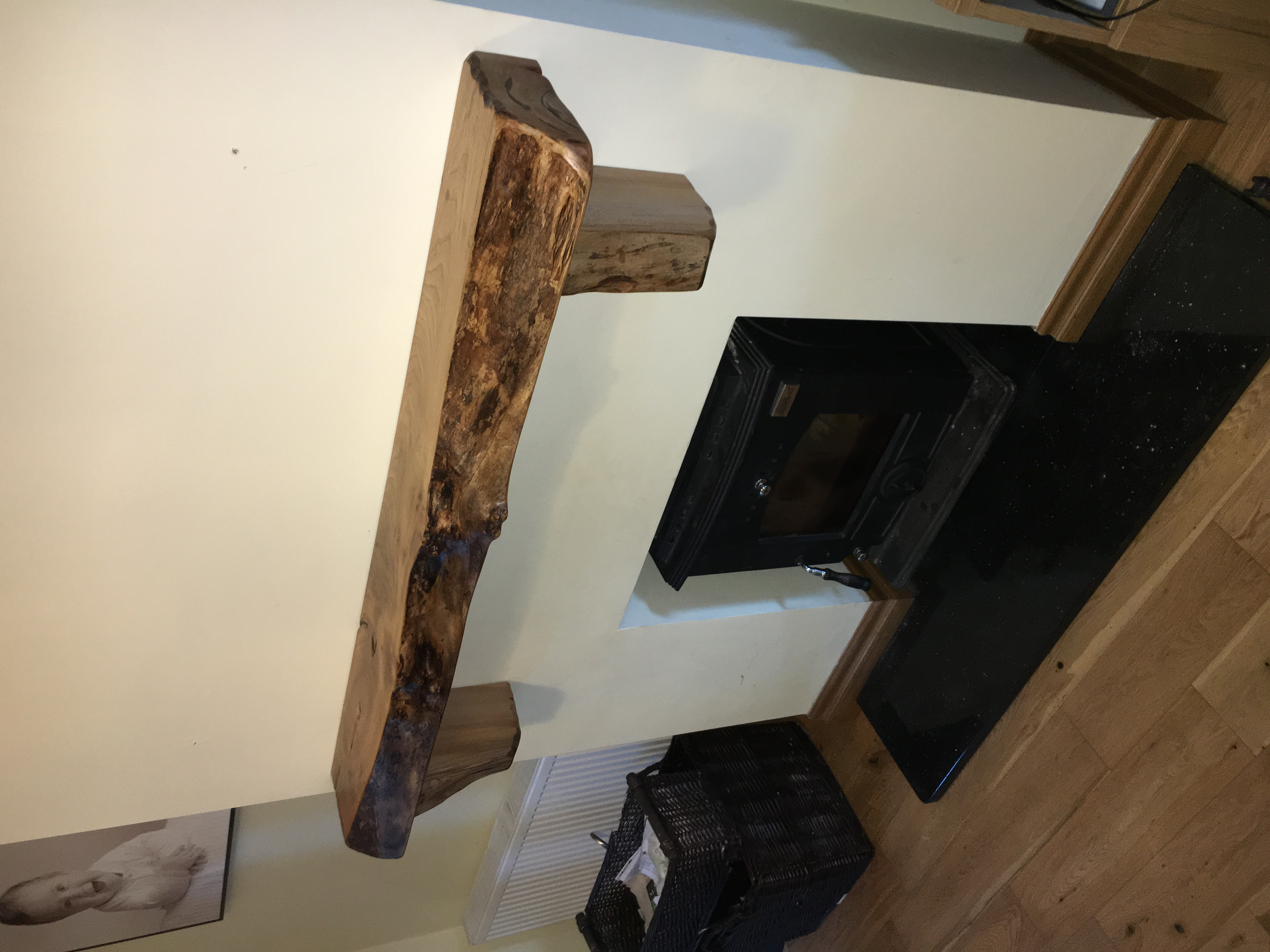 Rustic Mantle Piece