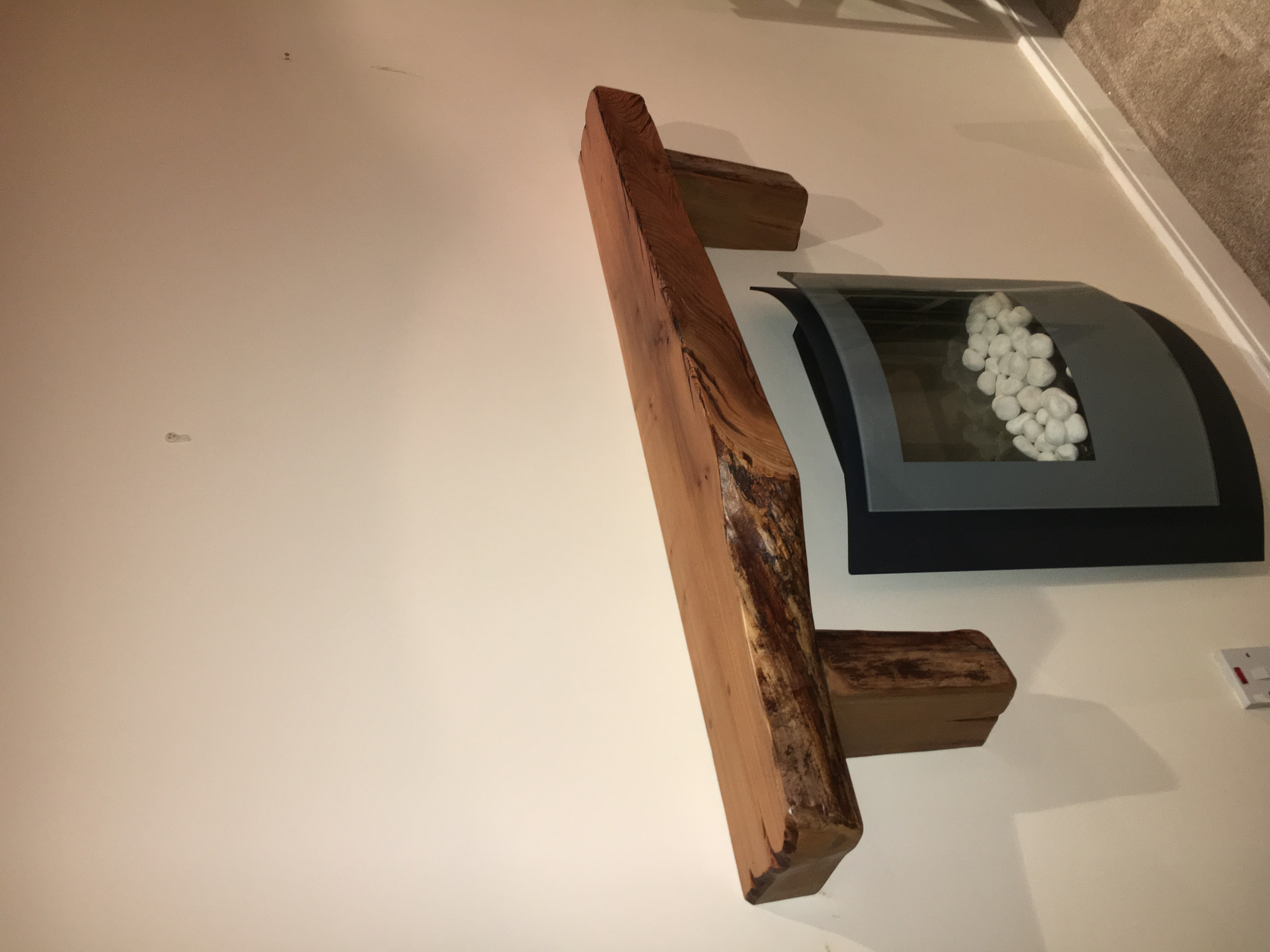 Natural Edge Mantle Piece