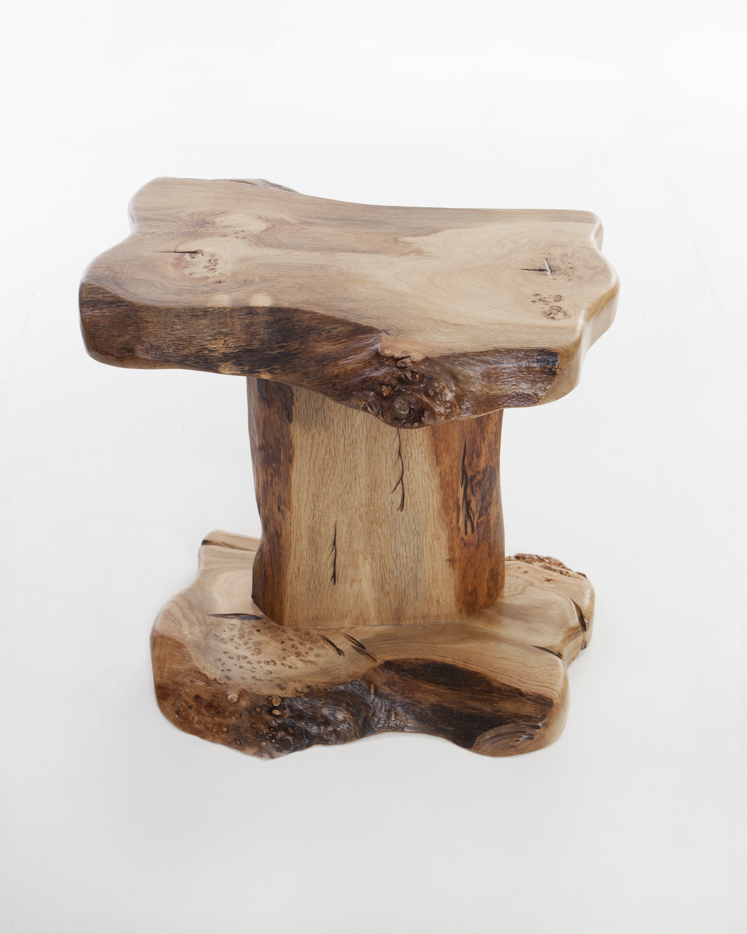 Oak Side Table/Lamp Table
