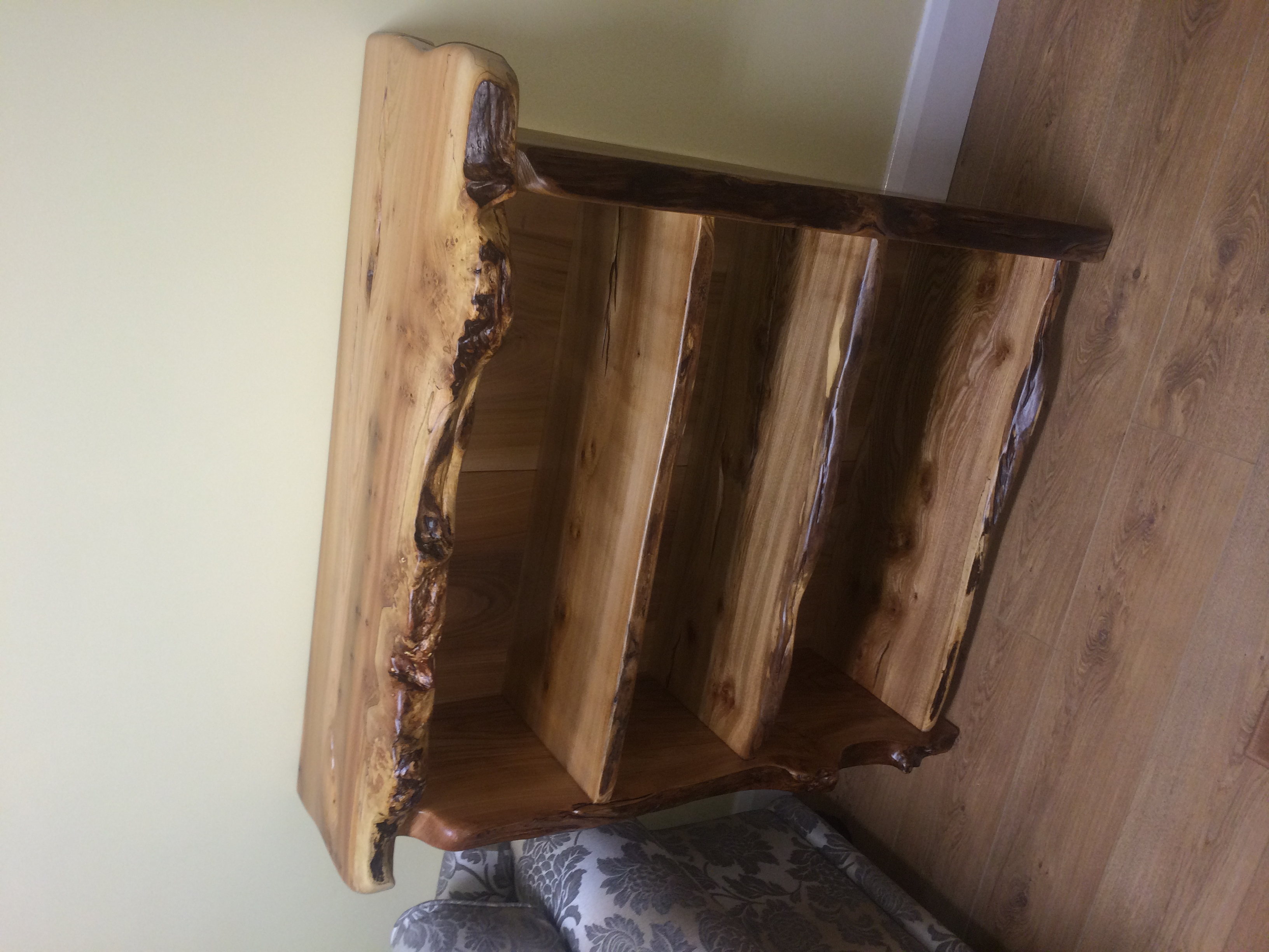 Unusual Rustic Shelf Unit