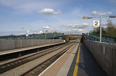 Cam and Dursley Train station