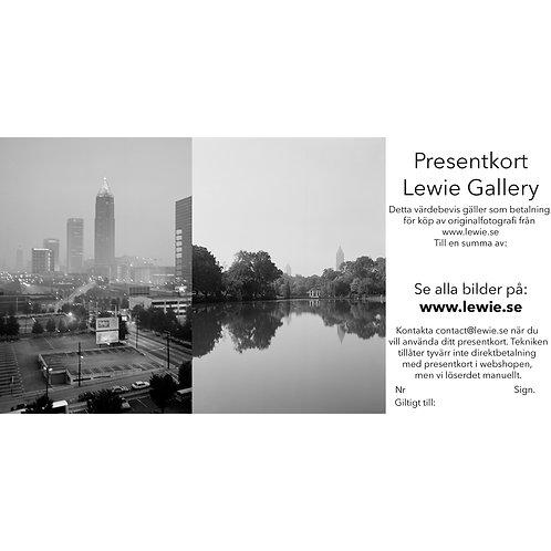 Presentkort Lewie Shop