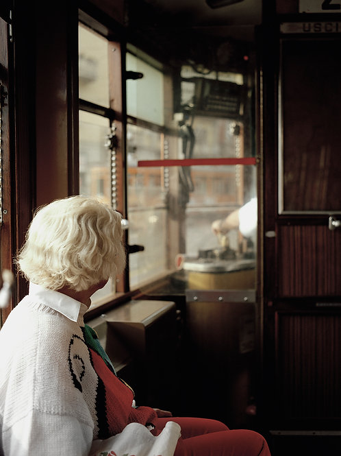 Lady and the tram