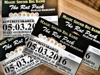 Rat Pack Special mit der Magic Sound Big Band