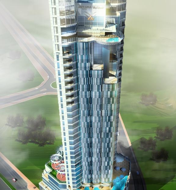 ARYANA Five Star Hotel Tower