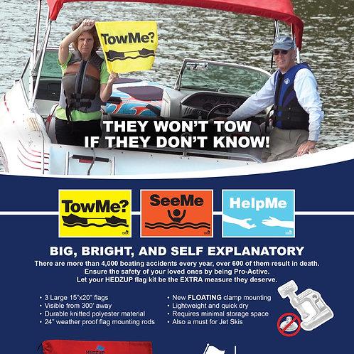 Complete Boating Safety Flag Kit