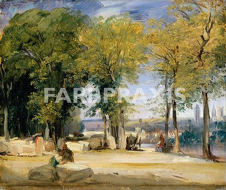Richard Parkes Bonington | View near Rouen