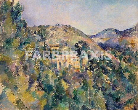 Paul Cezanne | View of the Domaine Saint Joseph