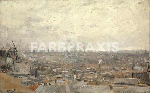 Vincent van Gogh | Vue de Paris, prise de Montmartre