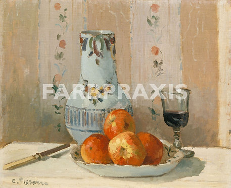 Camille Pissarro | Still Life with Apples and Pitcher