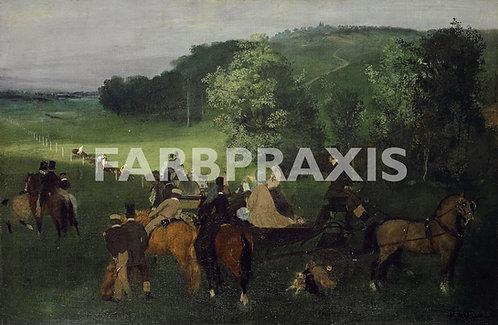 Edgar Degas | Sur le-champ de courses (Les-Courses)