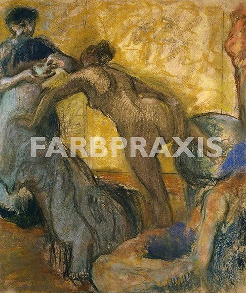 Edgar Degas | La tasse de chocolat
