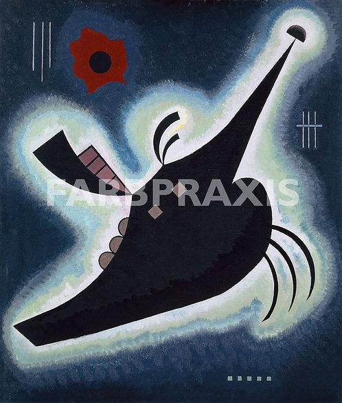 Wassily Kandinsky | Spitzes Schwarz