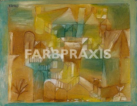 Paul Klee | Fasçsade braun-grün