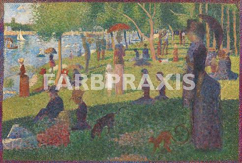 Georges Seurat | Study for A Sunday on La Grande Jatte