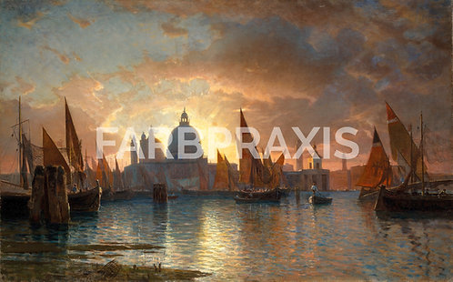 William Stanley Haseltine | Santa Maria della Salute, Sunset