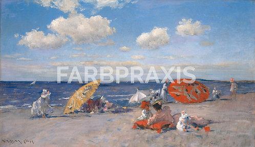William Merritt Chase | At the Seaside