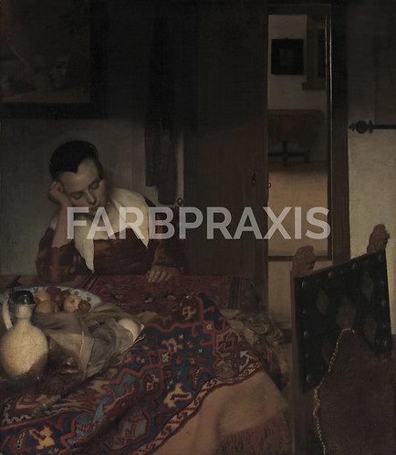 Johannes Vermeer | A Maid Asleep