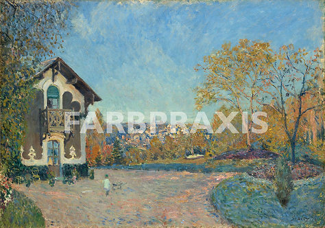 Alfred Sisley | View of Marly le Roi from Coeur Volant