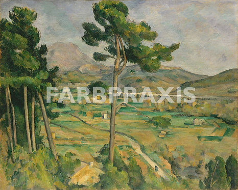 Paul Cezanne | Mont Sainte Victoire and the Viaduct of the Arc River Valley