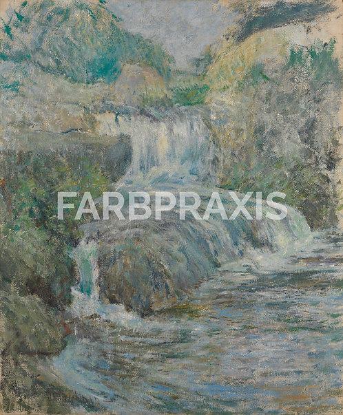 John Henry Twachtman | Waterfall
