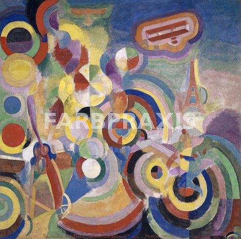 Robert Delaunay | Hommage a Bleriot