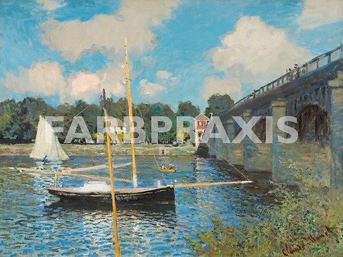Claude Monet | The Bridge at Argenteuil