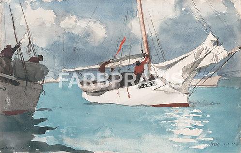 Winslow Homer | Fishing Boats, Key West