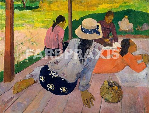 Paul Gauguin | The Siesta