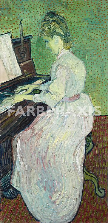 Vincent van Gogh | Marguerite Gachet au piano