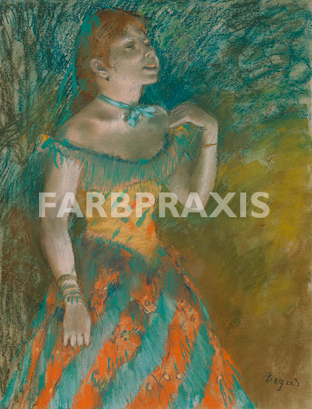 Egar Degas | Die Sängerin in Grün