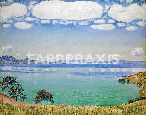 Ferdinand Hodler | Der Genfersee von Chexbres