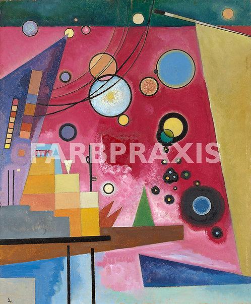 Wassily Kandinsky | Schweres Rot