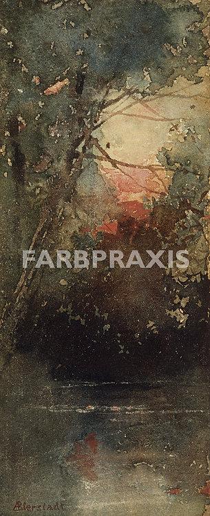 Albert Bierstadt | Woodland Sunset