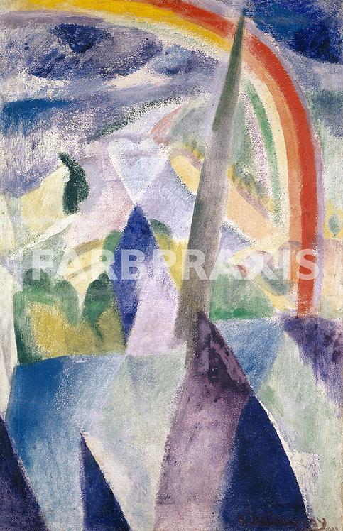 Robert Delaunay | La fleche de Notre Dame (Vue de Paris, Notre Dame)
