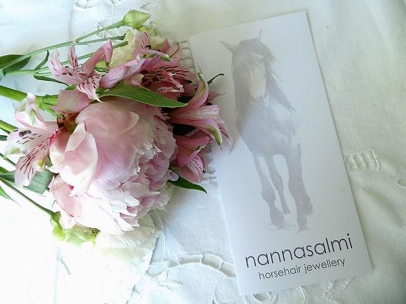 nannasalmi horsehair jewellery gift card