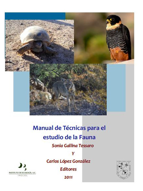 Manual de Técnicas para el Estudio de la Fauna