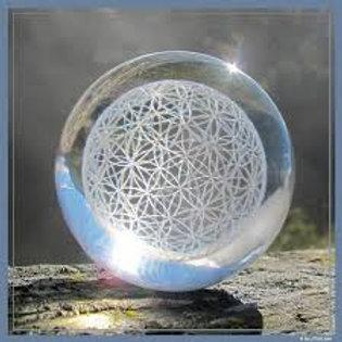Esfera Flor de la Vida 60mm
