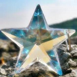 Estrella de Cristal - Colgante