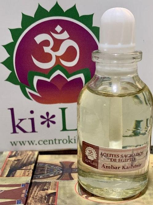 Aceite Sagrado de Egipto: Ambar Kashimir 30ml