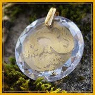 Medallon de Dragon Diamante