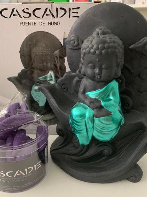 Cascada de Humo de Buda
