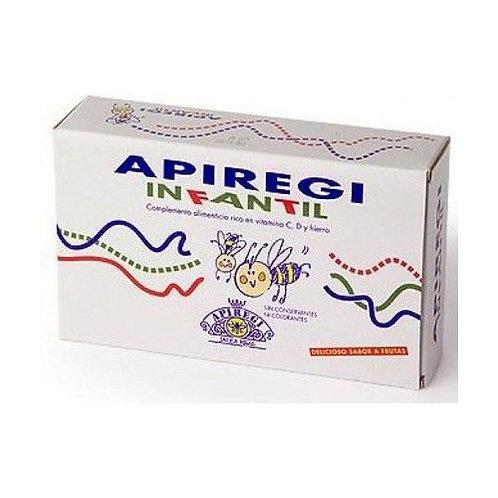 Apiregi Infantil 24 ampollas de 500mg