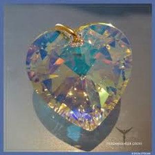 Corazón de Cristal - Colgante Grande