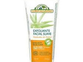 Exfoliante Facial Suave con Aloe Vera