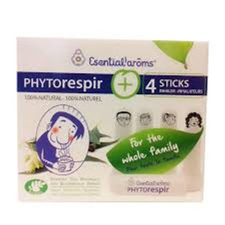 Phytorespir + 4 sticks inhaladores