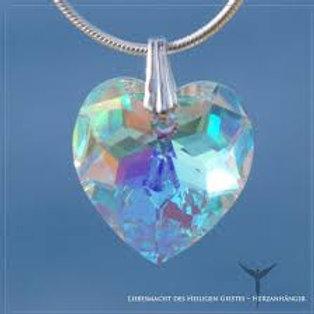 Corazón de Cristal - Colgante Pequeño